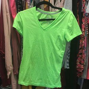 Nike Drifit shirt (green)